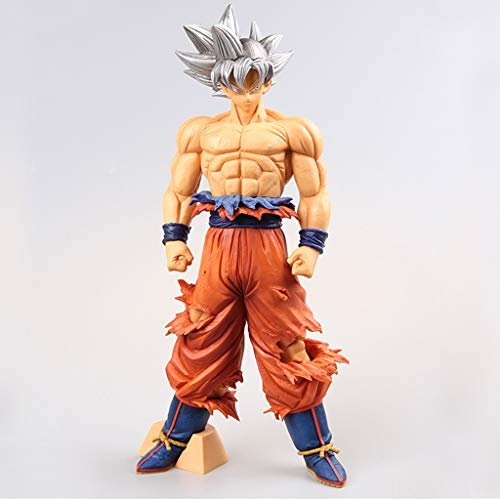 LYLLYL Dragon Ball Sun Wukong Silver Hair Model Statue Model Toy