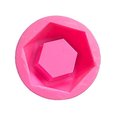 Lembeauty Diamant Geformter Blumentopf Silikon-Gummi Formen DIY Aschenbecher Giessform Kerzenhalter...