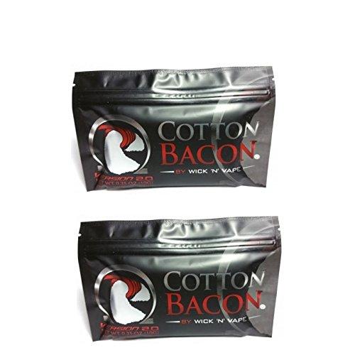Wick 'N' Vape Cotton Bacon V2 Baumwollwatte, 20 Stück