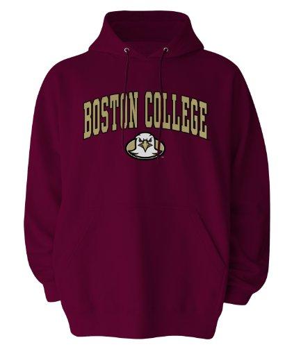 Old Varsity NCAA Kapuzensweatshirt Gildan, offizielles Lizenzprodukt, Herren, kastanienbraun, X-Large College Hoodie Sweatshirt