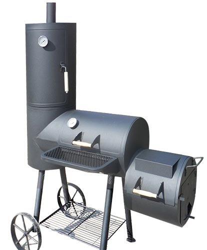 Smoker Indianapolis Garten grill Räucherofen Holzkohlegrill BBQ Kohle Garten Gartenausstattung von Jet-Line