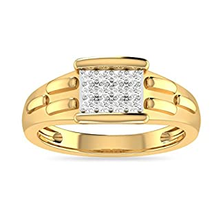 PC Jeweller The Ferguvin 18KT Yellow Gold & Diamond Rings