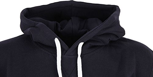 Cleptomanicx Ligull Hooded Dark Navy Dark Navy