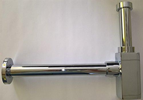 SAS Design Geruchverschluss, quadratisch aus Messing, verchromt - neu
