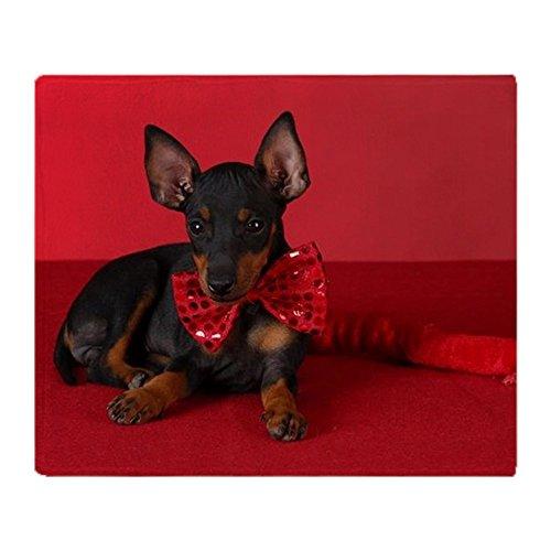Custom Halloween Hund Kostüme (CafePress–Bad Puppy–weicher Fleece Überwurf Decke, 127x 152,4cm Stadion Decke, weiß,)