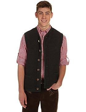St. Peter Trachten Herren Pullover & Weste & Shirt 22043 ANTHRAZIT