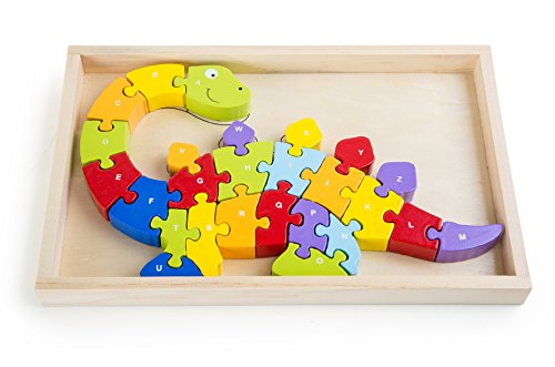 Small Foot - 10176 - Puzzle ABC - Dinosaure