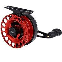 Pêche Moulinets 4 + 1BB roulements à billes Fly pêche moulinet roue en alliage d'aluminium radeau de pêche à la glace plaque de moulinet gauche / main droite avec roue de fil en plastique