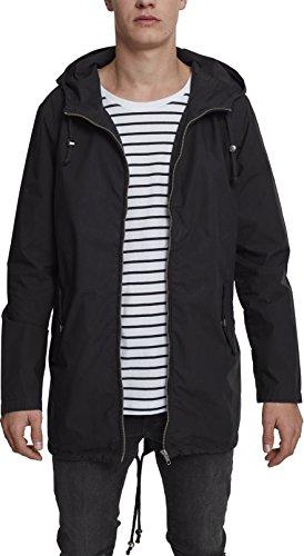 Preisvergleich Produktbild Urban Classics Herren Sommerjacke Light Cotton Parka - Farbe black, Größe 5XL
