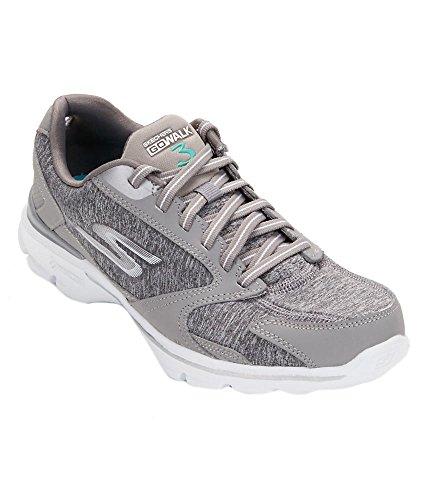 Skechers Go Walk 3-Statement Synthétique Chaussure de Marche gray