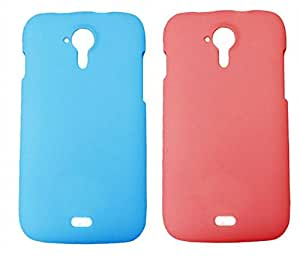 Winsome Deal 2 Pieces of Exclusive Quality Hard Back Cover Case For Micromax A116