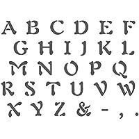 Pochoir Alphabet J BOUTIQUE Pochoirs Réutilisables Modèle Pour Les Travaux  Manuels Et Décoration Murale Signes De