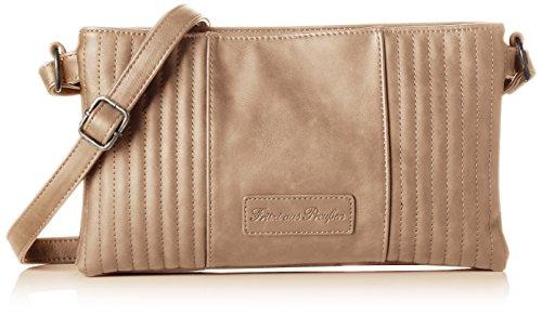Fritzi aus Preussen Damen Evita Business Tasche, Braun (Lynx), 2x18.5x31 cm -