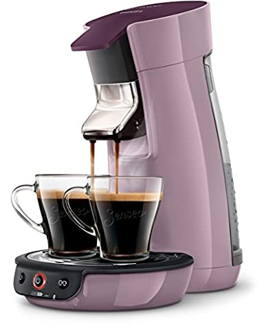 Philips Philips Senseo HD7829/40 Cafetière à dosette 0.9L 6tasses Noir, Argent machine à café