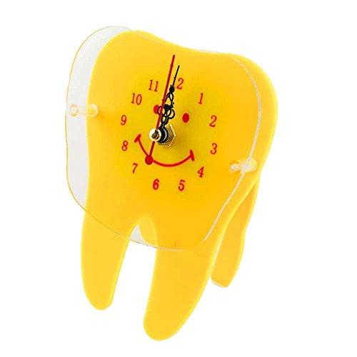 Earlywish Escritorio Reloj De Mesa Diente Molar Forma Odontología Odontológica Oficina Doctor...