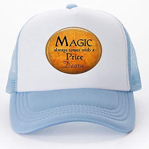 Kostüm Schmuck Zitate - bab Halloween Kostüm Schmuck - Magic Always Comes a Price Dearie - Rumpelstiltskin Zitat - Once Upon a Time - Magic Spell Baseball Caps Golf Caps Tennishut