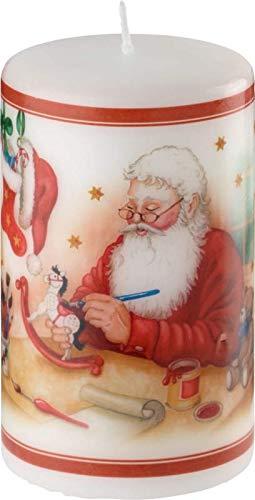Villeroy & Boch Winter Specials Kerze groß Weihnachtsman 7x12cm 35-9074-0124