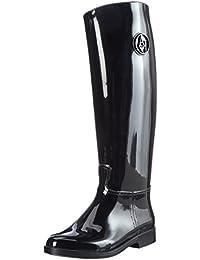 Armani Jeans Damen Stivale Gummistiefel