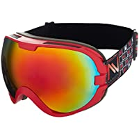 NAVIGATOR OMEGA - Gafas de esquí/snowboard - Unisex -Talla única -Varios colores (rojo)