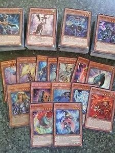 10 Yugioh Cards - Guaranteed 2 RARES/HOLOGRAPHICS - Chance At Blue Eyes White Dragon, Blue Eyes Ultimate Dragon, & Blue Eyes Shining Dragon by Konami (Eyes Dragon Blue Shining Yugioh)