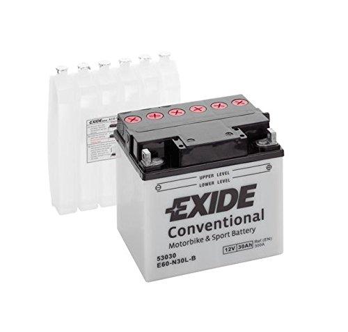 Exide Bike 53030 Y60-N30L-B Motorradbatterie 30Ah