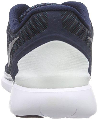 Nike Free 5.0 Print, Chaussures de Running Compétition Homme Bleu - Bleu
