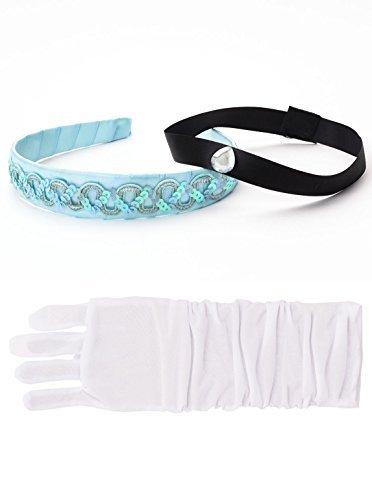 Little Adventures Cinderella Kopfband & Weißer Handschuh Set -