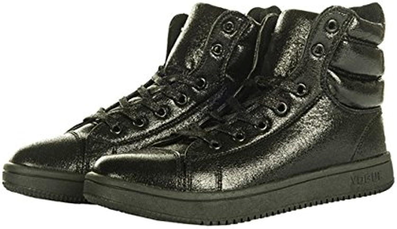 HKM – Metálico Zapatos de plástico, plata