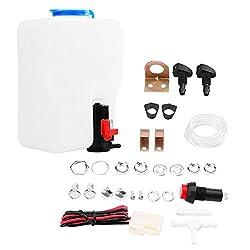 12 V Universal Windschutzscheibe Unterlegscheibe Pump Kit Reinigungswerkzeuge für Klassische Autos Boot Marine