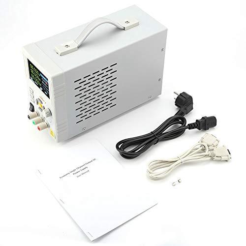 DC Regelbar Netzgerät, P4603 OWON 60V 3A Ausgang Einkanal Linearprogrammierbare Gleichstromversorgung, Labornetzteil Power Supply AC100-240V für SCPI und Labview RS232(EU Stecker) 3a Linear Power Supply