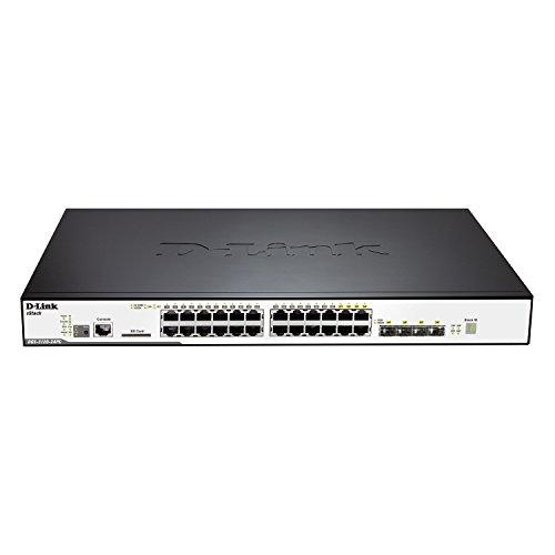 D-Link DGS-3120-24PC/SI xStack Gigabit L2 Stackable Managed Switch
