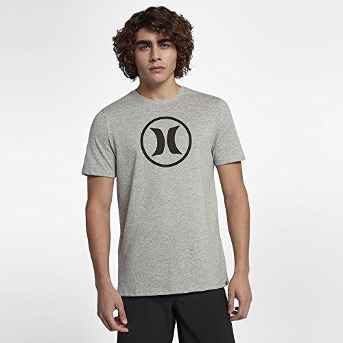Hurley Herren T-Shirt Dri-Fit Circle Icon T-Shirt (Hurley Icon)