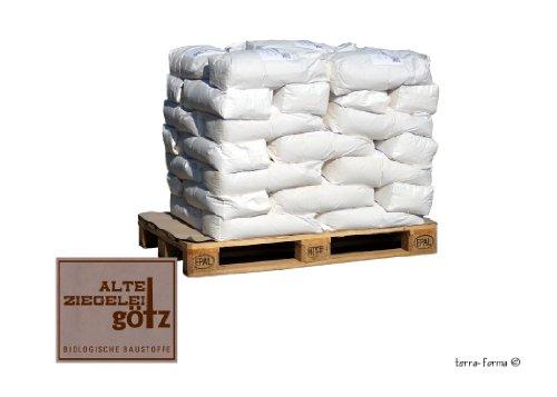 Terra Forma Lehmgrundputz mit Stroh a 1,05 to (42 Sack a 25 kg)