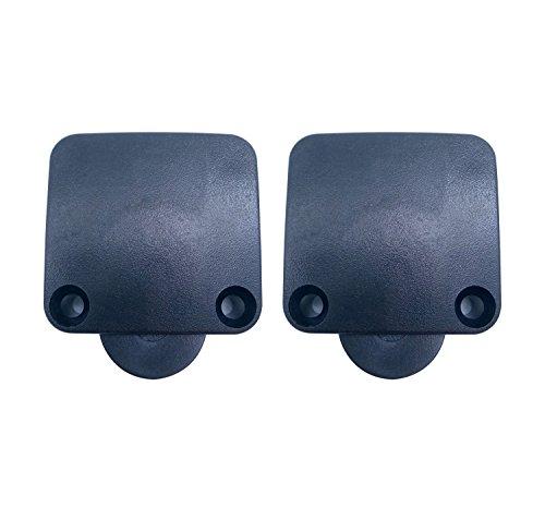 Schrank Schalter Tür Lichtschalter Schrank Auto Schalter für Schrank Lichter A Tür Schalter Beleuchtung Auto Schalter Beleuchtung Auto Schalter Doppel-Pcs Tür Schalter für ein Paket Tür öffnen und ausschalten Schalter CE Tür Schalter Oberfläche Plüsch Tür Schalter 2 Stück schwarz