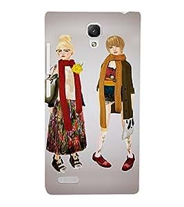 EPICCASE Barbie friends Mobile Back Case Cover For Xiaomi Redmi Note (Designer Case)