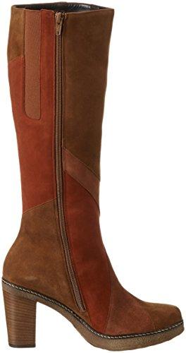 Gabor Shoes Basic, Stivaletti Donna Multicolore (Copper/Whisky/Fuch 14)