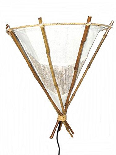 Unbekannt Wandlampe Bambus Wandleuchte Hellbraun Natur -