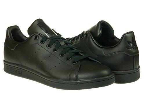 Adidas Stan Smith Sneakers Pour Homme, Couleur: Noir, Pour Homme, Taille 44 Noir