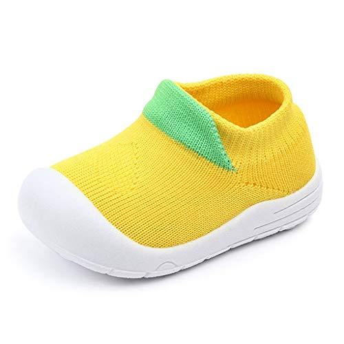 koperras Reine Farbe Baby Jungen und Mädchen Farbe fliegen gewebt Mesh Sportschuhe Socken Schuhe Freizeitschuhe Net Schuhe einen Fuß Slip