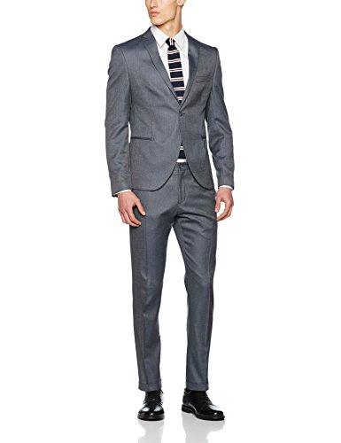 SELECTED HOMME Herren Sakko Shdone-Louame Blazer Sts Grau (Medium Grey Melange)