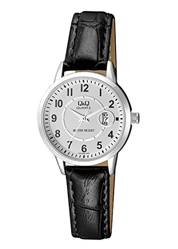 Q&Q Analog Date Display White Dial Formal Watch For Women-A457J304Y image