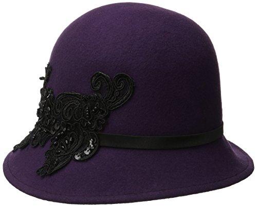 san-diego-sombrero-cloche-de-fieltro-de-lana-de-la-empresa-mujeres-sombrero-con-lentejuelas-encaje-a