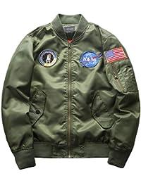 d056b36996 Amazon.it: bomber - Uomo: Abbigliamento