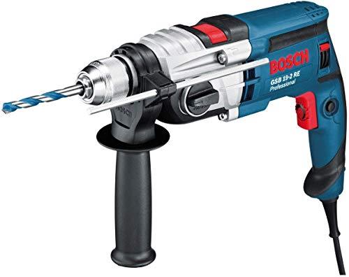 Bosch Professional GSB 19-2 RE - Taladro percutor 850 W, 0 - 1000 / 3000 rpm, máx. perforación hormigón...