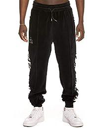Grimey Pantalones X Natos Y Waor Velour Negro L (Large)