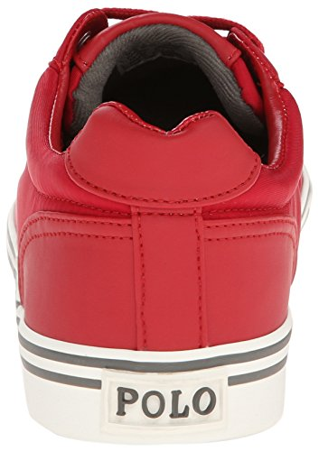 Ralph Lauren Hanford SK VLC Red Mens Trainers Rouge
