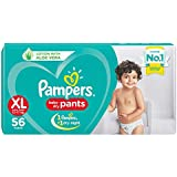 Pampers New Diaper Pants, XL, 56 Count