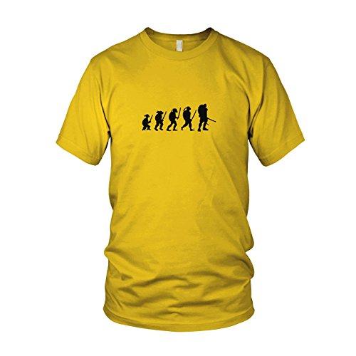 Turtle Evolution - Herren T-Shirt, Größe: XXL, Farbe: ()