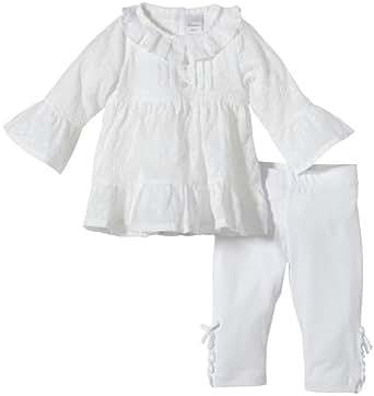 Stummer Baby - Mädchen Bekleidungsset 15024, Gr. 62, Weiß (001 bright white)