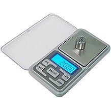 SODIAL 200g x 0.01g Mini bascula Digital Bascula de Joya Herramientas de Peso de Bolsillo